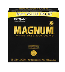 Value Pack Of 36 Magnum Condoms